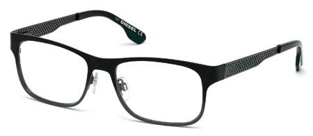 DIESEL for man dl5074 - 005, Designer Eyeglasses Caliber - For Glasses Diesel Men