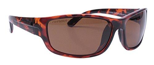 Unsinkable Polarized Unisex Circuit floating polarized sunglasses, Caramel - Reflekt Sunglasses Unsinkable