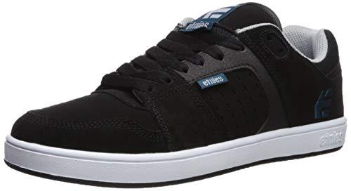 Etnies Men's Rockfield Skate Shoe, Black/Blue/White, 10.5 Medium US