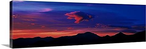 Canvas On Demand Premium Thick-Wrap Canvas Wall Art Print entitled Sunrise Rocky Mountain National Park - Colorado Rocky Mountain Natl Park