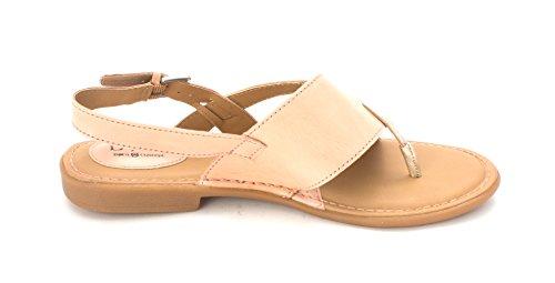 B Leather o Light Split c Casual Blush Toe Lowrey Sandals gold Pink Combo Slingback Womens xwpSxqrIR