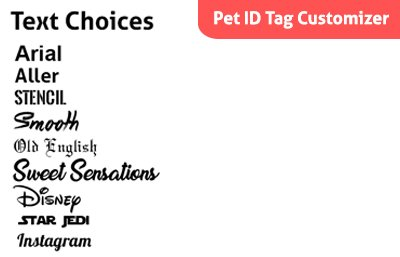 Pictures of Polka Dot Disney Custom Personalized Pet ID 2