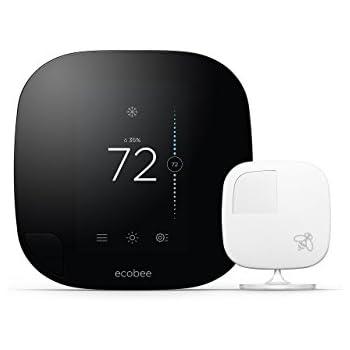 ecobee3 Thermostat with Sensor, Wi-Fi, 2nd Generation, Works with Amazon Alexa