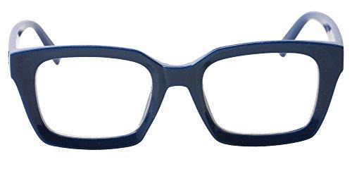 SOOLALA Retro Desinger 47mm Large Lens Square Reading Glass Big Eyeglass Frame