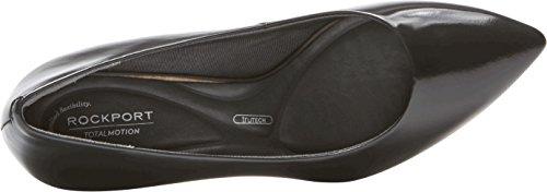 Box Luxe Rockport Leather Tm Women's Black Shoes Pump Violina qtA0wxtZ