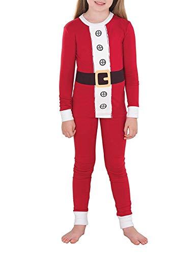 Famiglia e BESBOMIG Vestiti Top Youth Pigiama Lunga Pantaloni Manica di Lunghi Genitore la per Natalizio Nightwear Casa Unisex Bambino PrPIw1q6x