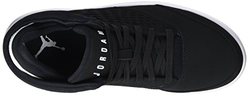 Nike Jordan Flight Origin 4, Scarpe da Basket Uomo Nero (Black/White/Gym Red)
