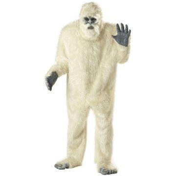 [Abominable Snowman Adult Costume] (Snowman Halloween Costumes)