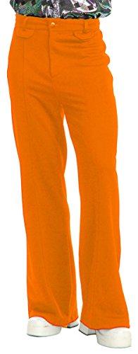 Disco Pants Adult Costume Orange - 34