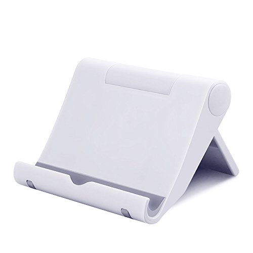 Line Telephone Handset Amplifier - 2019 Fashion ! Charberry Universal Bed Desk Mount Cradle Holder Stand for Phone iPad Table (White)