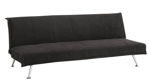 DHP Futon Couch Microfiber Upholstery