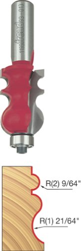 """Freud 15/16"""" (Dia.) Face Molding Bit with 1/2"""" Shank (99-013)"""