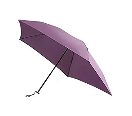 Umbrella Mini Parasol 100 g Ultralight Mujeres Paraguas Plegable de Fibra de Carbono (Color :