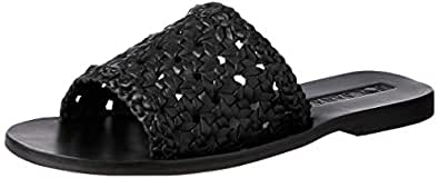 Sol Sana Women's Woven Teresa Sandals, Black, 10 US(40 EU)