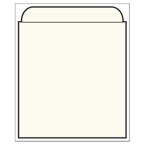 (Kapco Standard Back Self-Stick Book Pocket, 3-1/2 x 4-1/2 Inches, Manila, Pack of 500)