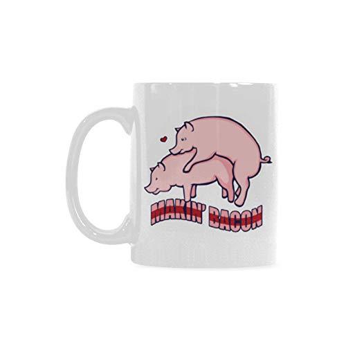Amazoncom Funny Saying Quotes Making Bacon Mug Makin