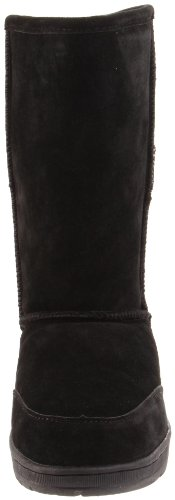 Black Meadow Fur Boot Trimmed Women's Bearpaw UnPFpqTfF