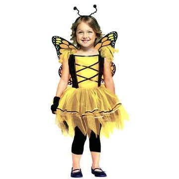 Ballerina Butterfly Gld 3T-4T (Ballerina Butterfly Costume)
