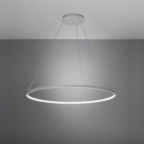 LightInTheBox Pendant Light Modern Design Living LED Ring Home Ceiling Light 20W Pendant Light for Office,Showroom,Living Room (White)