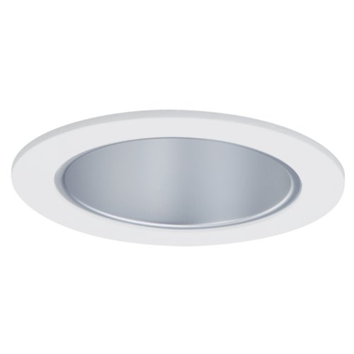 HALO Recessed 999H 4-Inch Trim Cone with Haze Reflector, White