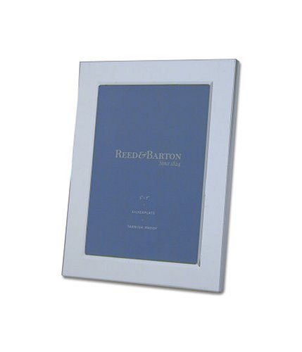 - Reed & Barton Classic Channel 5 x 7 Inch Silverplated Picture Frame
