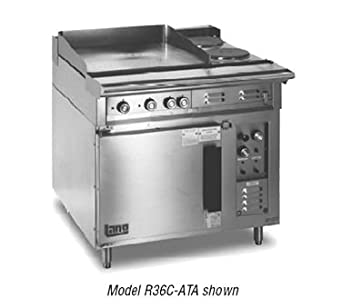 Lang R36C ATD 36quotW Electric Range With Griddle And Convection Oven