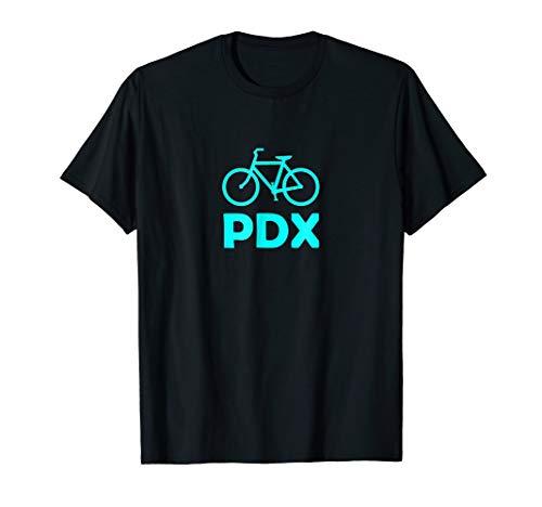 (Bike PDX Portland Oregon Vacation Road Trip Cyclist T-Shirt)