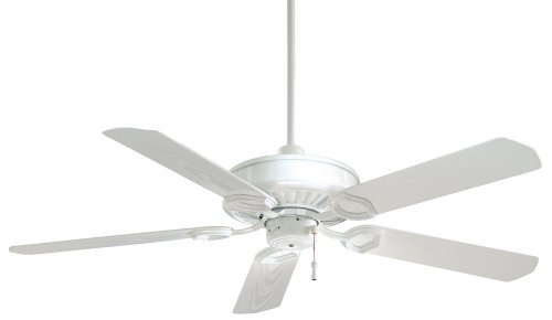 Sundowner Outdoor Fan - Minka-Aire F589-WH Minka Aire Outdoor Fan, White