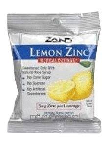 Zand - Herbalozenge Lemon Zinc Lemon Flavor 5 mg. - 15 Lozenges