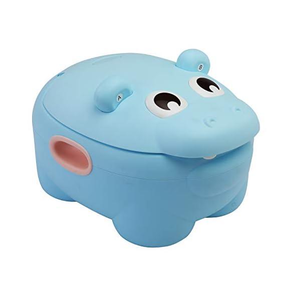 LuvLap Hippo Dippo Baby Potty Training Seat (Blue)