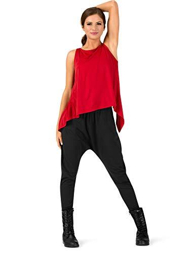Natalie Dancewear Adult Harem Pants N8639BLKS Black Small