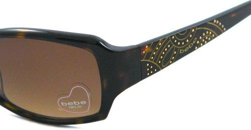 BEBE Lunettes de soleil BB7049 002 Écailles de tortue 55MM