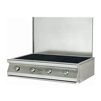 KitchenAid KSOX 9010 - Barbacoa (24800 W, Barbacoa, Gas, Mesa, Parrilla, Acero inoxidable): Amazon.es: Hogar