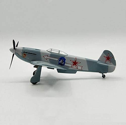 軍事WWIIYAK-3ソビエトプラスチックファイター1/72スケールモデル、アダルトグッズやギフト、5インチX 4.6Inch