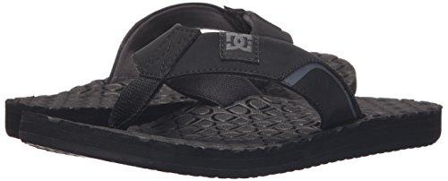 DC Shoes Men's Kush Sandals Black S10