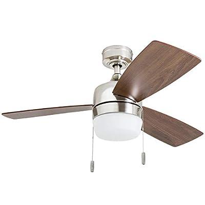 Honeywell Ceiling Fans 50616-01 Barcadero, 44, Brushed Nickel