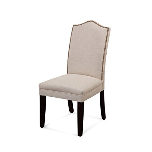 Bassett Mirror Nailhead Parsons Chair, Set of Two by Bassett Mirror Company