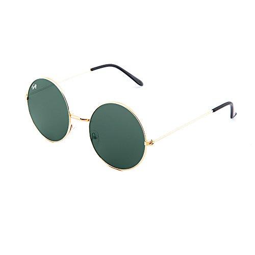 Verde Bronce espejo sol de TWIG hombre mujer BRETON Oscuro Gafas degradadas OPqZz