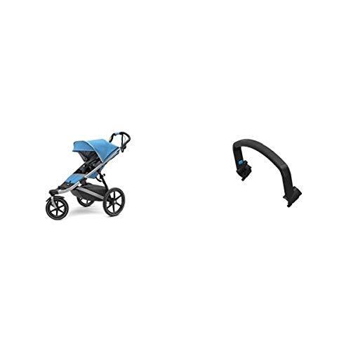 Thule Urban Glide 2.0 Jogging Stroller (Thule Blue) w/ Bumper Bar