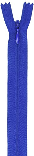 """Coats Thread & Zippers F8422-009 Invisible Zipper, 20"""" to 22"""", Yale Blue"""
