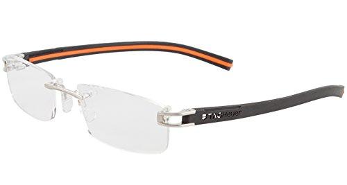 Tag Heuer Eyeglasses TH 7643 BLACK 004 ()