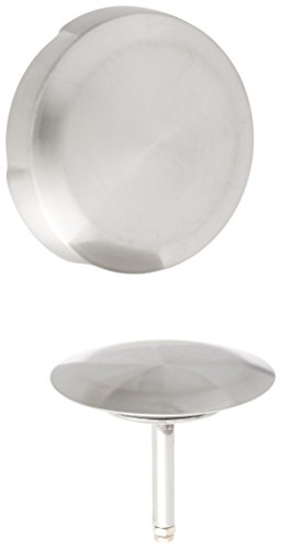 Geberit 151.553.ID.1 Euro Turn Control Bath Waste and Overflow Trim Kit Only, Brushed Nickel
