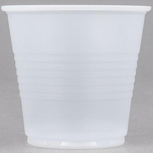 Conex Galaxy Y35 3.5 oz. Translucent Plastic Cold Cup - 2500/Case By TableTop King -