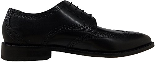 Flors Mens Castellano Vinge Oxe Black Oxford - 15 3e