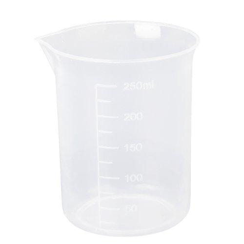 TOOGOO(R) 250ml Graduations Beaker Transparent