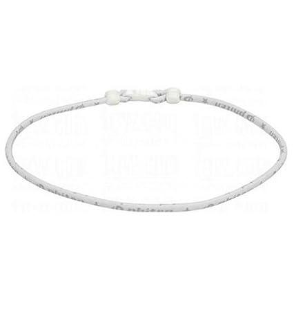 Phiten Classic Necklace, White, 22