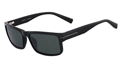 Nautica Sunglasses N6186S 001 Shiny Black 58 17 - Sunglasses 58/17/140
