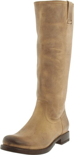 Women's Old Frye Zip Riding Jenna Boot Sand Town Inside 7ddrFWxq