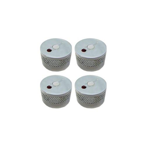 Genuine Gretsch G Arrow & Jewel Knob for USA Solid Shaft Pots Set of 4 - Chrome