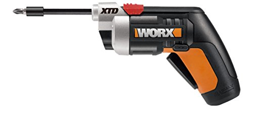 WORX 4 Volt Lithium Ion (Li-Ion) 1/ (Worx Wx254l Sd Semi Automatic Power Screwdriver)
